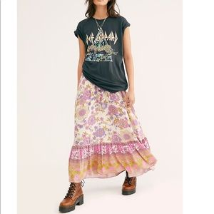 NEW spell gypsy collective buttercup maxi skirt